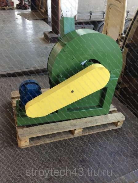 Дробилка для измельчения древесины в щепу или опилки