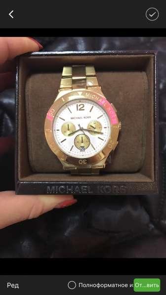 Часы Michael Kors новые с гарантией