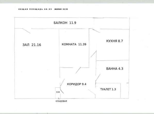 Продаю 2-ю квартиру в Белгороде