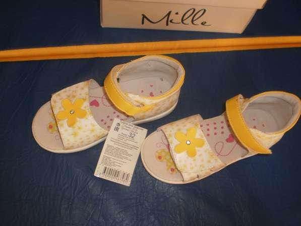 Новые анатомические сандалии для девочки 32 размера в Санкт-Петербурге