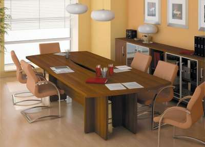 БОРН-122 стол-переговоры орех