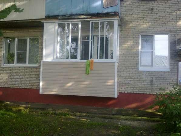 Остекление балконов и окон в Ногинске фото 6