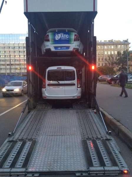 Крытые автовозы-эвакуаторы в Санкт-Петербурге фото 10