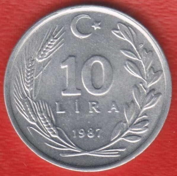 Турция 10 лир 1987 г.