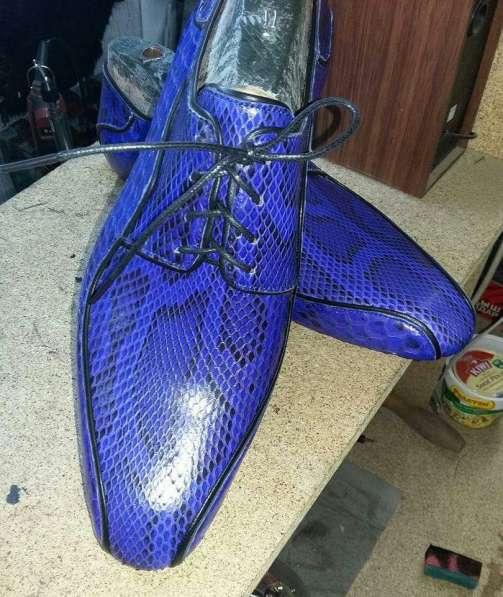 Изготовление эксклюзивной обуви на заказ