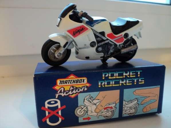Масштабная модель мотоцикла Кавасаки
