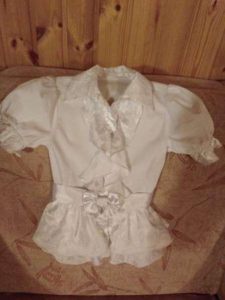 Школьная блузка, р.128-134 (1-2 класс) в Лыткарино фото 3