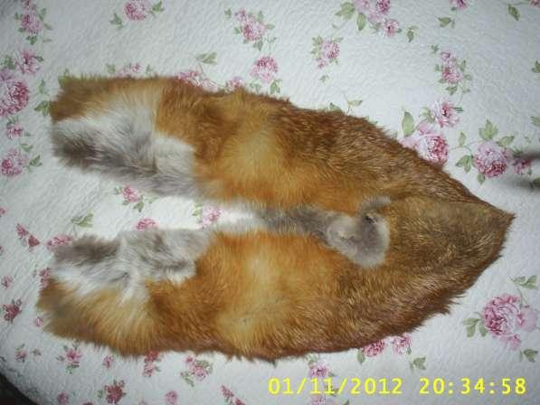 Горжетка из рыжей лисицы