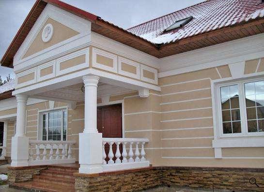 фасадный декор колонны боссажи молдинги продажа и монтаж в Калининграде