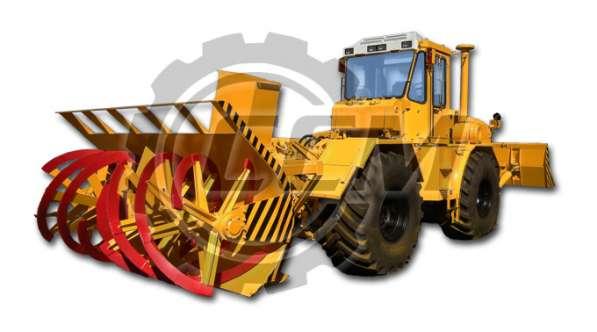 Фрезерно-роторный снегоочиститель К-703-ОС-Т с отвалом