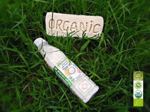 Кокосовое масло холодного отжима Organic оптом
