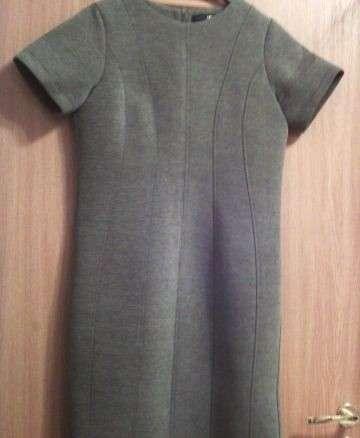 Платье - футляр, чёрное, новое