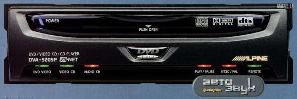 Автомобильный DVD-проигрыватель Alpine DVA-5205P