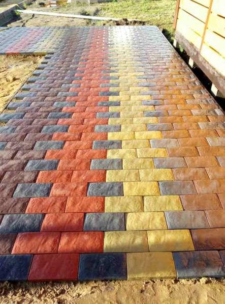 Тротуарная плитка в Егорьевске фото 8
