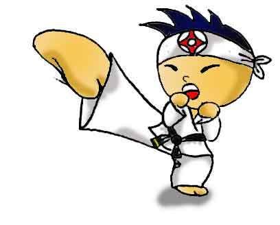 Каратэ kyokushinkai детям. У Вас дома