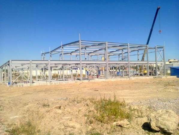 Строительство зданий из легких металлокнструкций