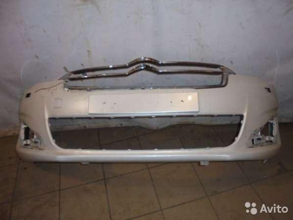 Бампер на Citroen C4 седан
