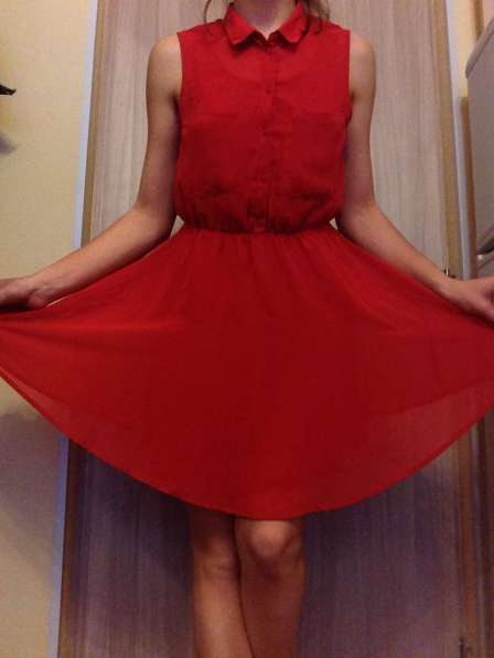 Яркое платье на лето