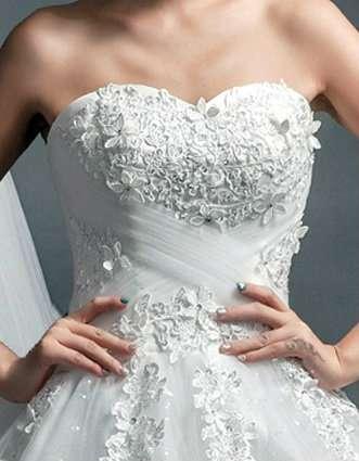 Новое классическое свадебное платье