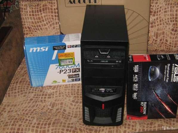 Новый системный блок amd fx 4300 r7 250 hdd 500gb