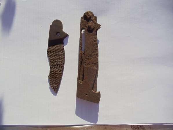 Выкидной нож из немецкого окопа в Ростове-на-Дону