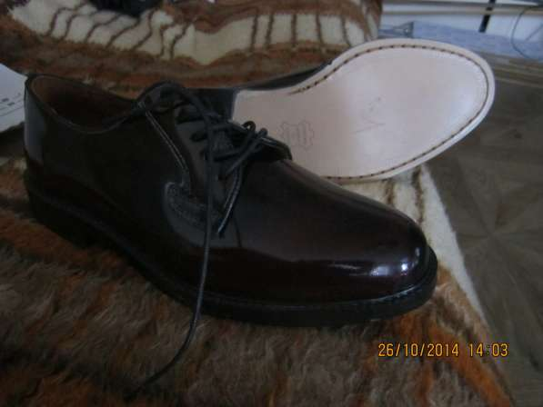 Туфли мужские новые 42 размер из натуральной кожи