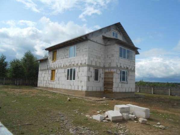 Продается дом под чистовую отделкув дер. Павлищево, Можайский р-он, 100 км от МКАД по Минскому шоссе.