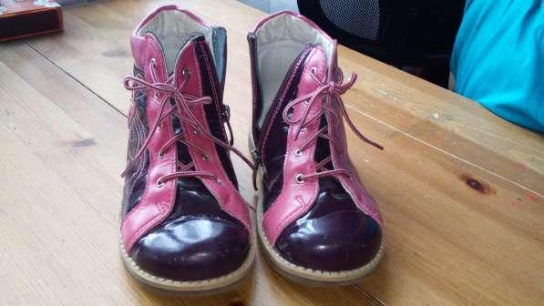 Ортопедические ботинки для девочки,29размер, б. у в Москве