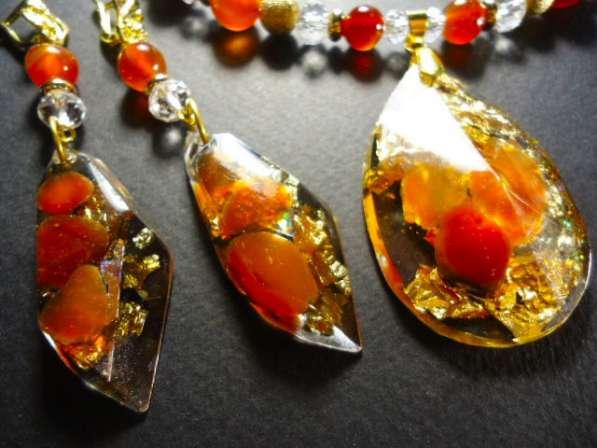 Украшения ручной работы с натуральными камнями в Ижевске фото 9