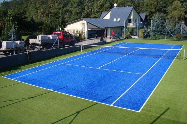 Строительство теннисного корта качественно, по доступной цен в Екатеринбурге фото 3