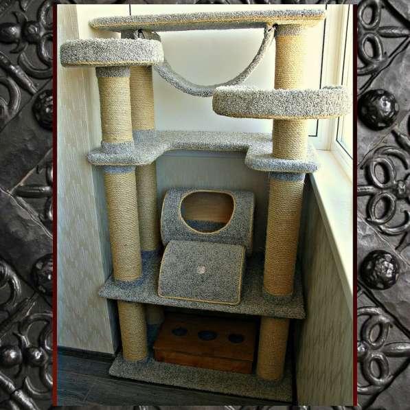 Изготовление комплексов и домиков для кошек на заказ в Ростове-на-Дону фото 7
