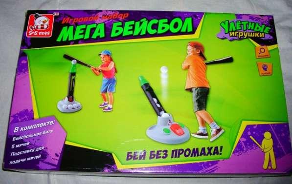 Бейсбол - мега, игровой набор Бей без промаха
