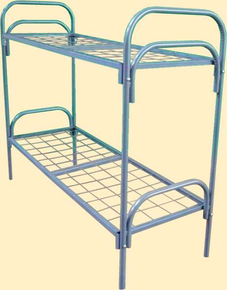 Металлические кровати для лагерей, рабочих, хостелов в Уфе фото 8