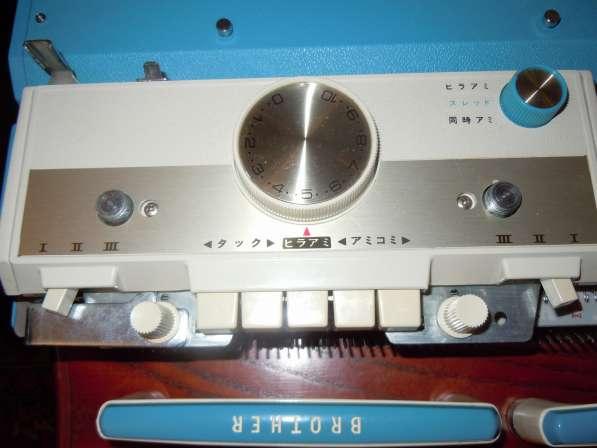 Вязальная машина 5 класса Brother KH-588 с лекальным устройс