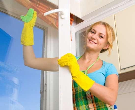 Мытьё окон, уборка любых помещений