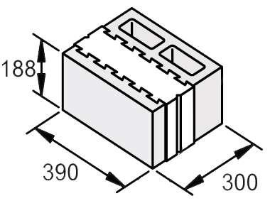 Теплоблок 20х30х40