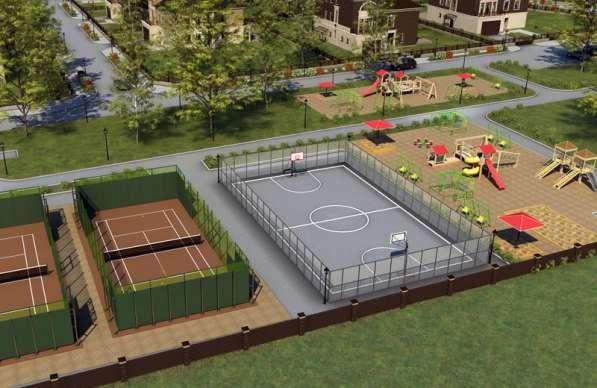 Строительство спортивных, игровых и детских площадок в Екатеринбурге фото 6
