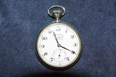 Карманные часы Ж/Д Гострест Точмех. 1920 Точмех по заказу Н. К. П.