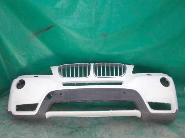 Бампер передний на BMW X3 F25 б. у. оригинал
