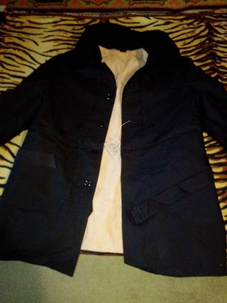 Пальто-куртка мужское зимнее с поясом
