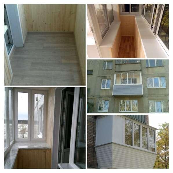Остекление и обшивка балконов и лоджий в Новосибирске фото 4