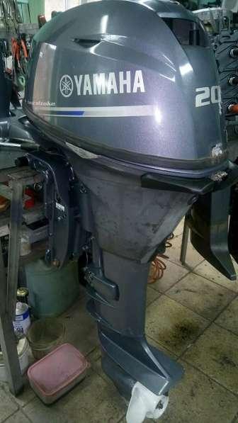 Продам отличный лодочный мотор YAMAHA F20 BEHP, НА ГИДРАВЛИК
