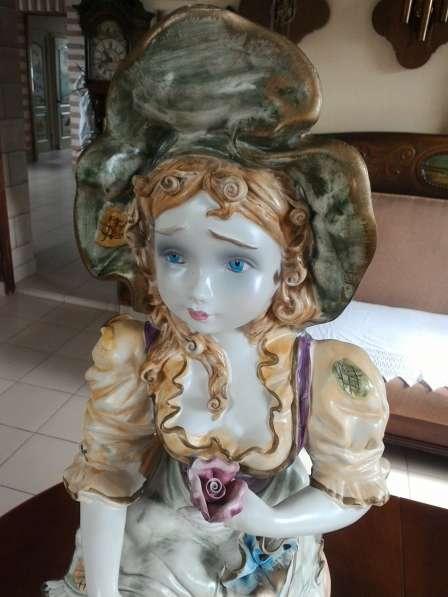 Парные фафроровые статуэтки Италия 68 см в Перми фото 5