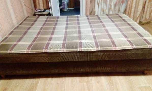 Кровать с подъемным механизмом и ящиком для белья в Москве