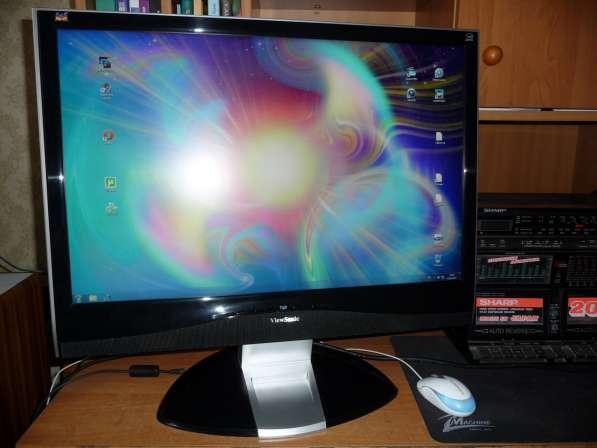 ЖК LCD 24 дюйм, MVA ViewSonic VX2435wm
