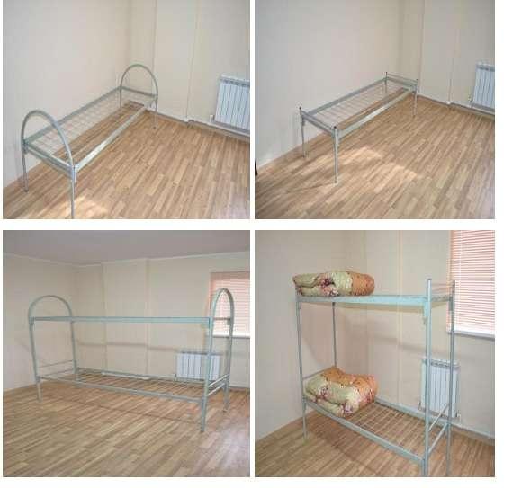 Кровать металлическая (армейского типа)