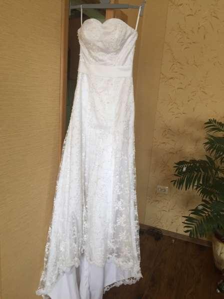 Эксклюзивное свадебное платье в Мичуринске фото 5