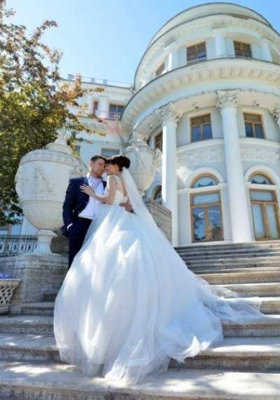Свадебное платье Италия+ фата в подарок!