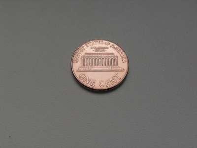Монета 1 Цент 1998 год D США
