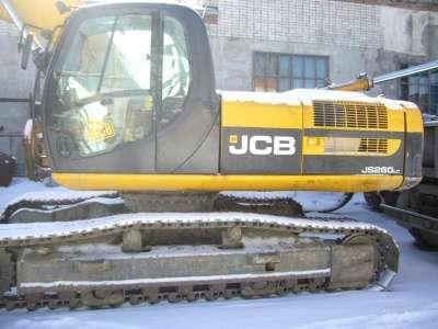экскаватор JCB JS260LC